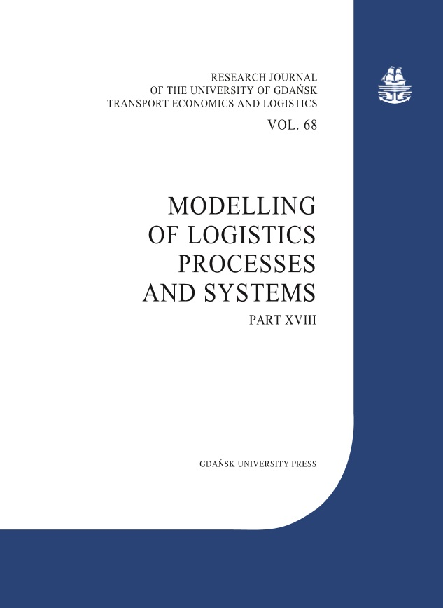 LOGISTICS PROJECT PLANNING UNDER CONDITIONS OF RISK AND